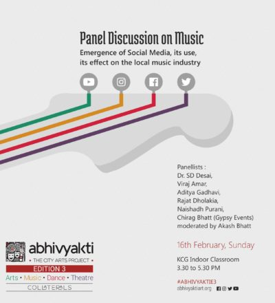 Panel Discussion on Music – Moderated by Akash Bhatt