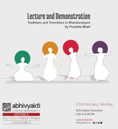 Lecture & Demonstration by Pracheta Bhatt
