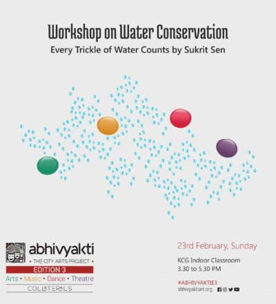 Workshop on Water Conservation by Sukrit Sen